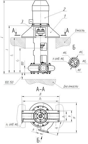 Насос шламовый Тип ВШН-150